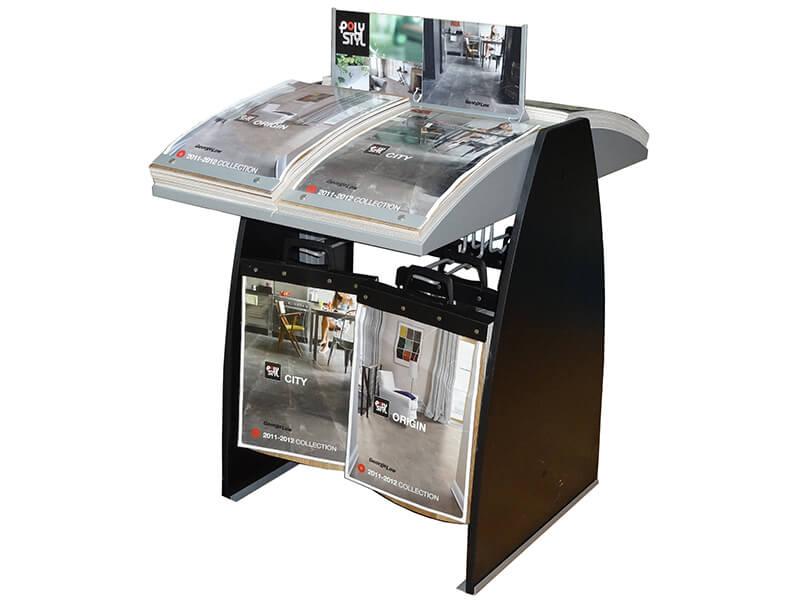 Custom Vinyl Flipover Stand